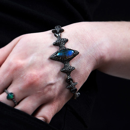 Strain925 sterling silver jewelry collection content bracelets