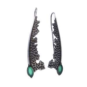 v. hararuk fashion silver jewelry strain925 earringsVHSE15