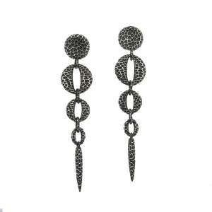 v. hararuk fashion silver jewelry strain925 earrings_VHSEL51