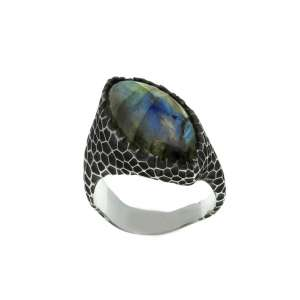 v. hararuk fashion silver jewelry strain925 ring_VHSR02