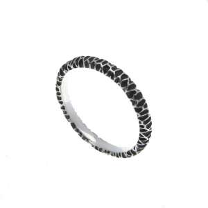 v. hararuk fashion silver jewelry strain925 ring_VHSR10