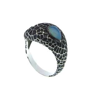 v. hararuk fashion silver jewelry strain925 ring_VHSR17