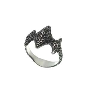 v. hararuk fashion silver jewelry strain925 ring_VHSR18
